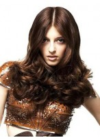 Polished Hair Style Lace Wig