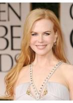 Nicole Kidman 's Popular Long Hairstyle Lace Wig