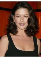 Catherine Zeta's Mid-length Lace Wig