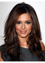 Cheryl Cole Long Human Hair Wig