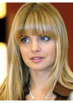 Mena Suvari Synthetic Straight Wig
