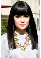 Jessie J Remy Human Hair Long Wig