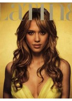 Jessica Alba Hairstyle Lace Front Synthetic Wig