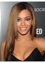 Beyonce Sleek Straight Human Hair Full Lace Wig