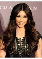 Kim Kardashian Centre Parting Long Wavy Wig