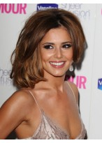Cheryl Cole Medium Length Centre Parting Synthetic Wig