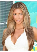 Kim Kardashian Centre Parting Human Hair Wig