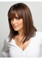 Straight Cheryl Cole'S Lace Wig
