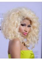 Top Quality Nicki Minaj'S Gorgeous Fluffy Style Medium Wavy Cheap Lace Wig