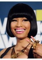 Nicki Minaj's Human Hair Short Length Wig