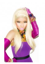 Nicki Minaj's Long Straight 100% Remy Human Hair Wig