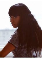 Nicki Minaj's Long Wavy Heat Friendly Synthetic Wig