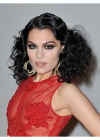 Stunning Long Wavy Jessie J Synthetic Lace Front Wig for Woman