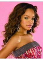 Rihanna's Long Capless Heat Friendly Synthetic Wig