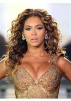 Beyonce Long Cute Wavy Remy Human Hair Wig