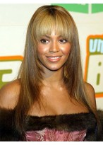 Beyonce Long Straight Remy Human Hair Wig