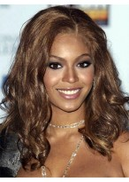 Beyonce Amazing Medium Wavy Synthetic Wig