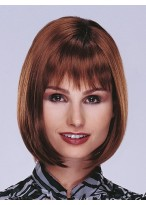 Shoulder Length Lace Front Bob Wig