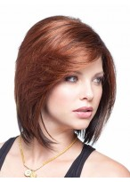 Elegantly Relaxed Shoulder Length Bob Wig