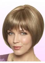 Erin Hand-Sewn Lace Front Top Grey Bob Wig