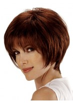 Striking Short Cut Bob Wig