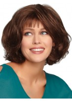 Long Synthetic Lace Front Bob Wig