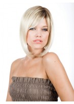 Updating Sleek Straight Light Blonde Bob Wig