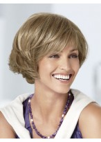 Capless Top Gorgerous Bob Style Synthetic Wig