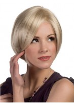 Front Lace Line Chin Length Graduated Layered Bob wig
