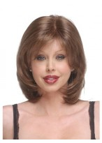 Synthetic bob wigs with beautiful layers