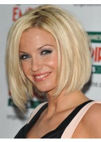 Hot Selling Short Capless Straight Human Hair Wig