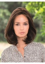 Classically Shaped Human Hair Full Lace Bob Style Wig