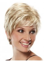 Short Kinky Straight Lace Front Wig