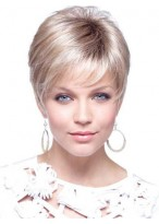 Beautiful Pixie Style Short Capless Wig