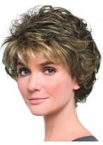 Beautiful Softly Curly Lightweight Short Capless Wig