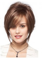Polished Pixie Style With Long Grazing Sides Wig