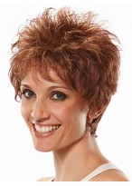 Popular Spikey Layered Lightweight Short Wig