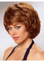 Synthetic Soft Layers Short Capless Wig