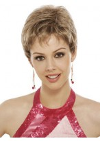 Short Pixie Cut Synthetic Lace Front Wig