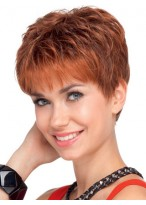Remy Human Hair Lace Front Pretty Short Wig