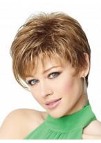 Short Asymmetrical Cut Capless Wig