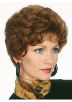 Short Soft Loose Wave Capless Synthetic Wig