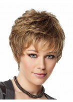 Upper Cut Synthetic Capless Short Wig