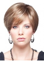 Synthetic Capless Short Wig