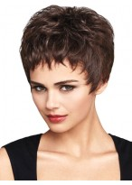 Beautiful Short Synthetic Wavy Wig