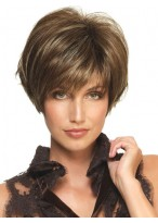 Flirty Synthetic Short Wig