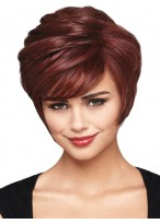 Capless Classic Synthetic Short Wig