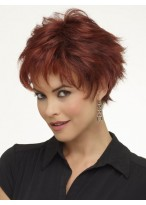 Full Lace Mono Top Synthetic Short Wig