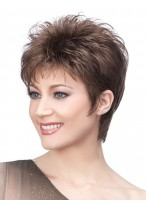 Short Synthetic Choppy Cut Wig