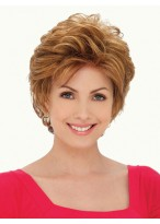 Synthetic Front Lace Short Wig